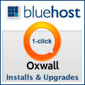 bluehost for oxwall