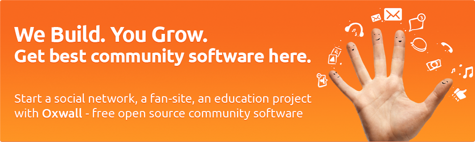 Oxwall Free Open Source Community Software