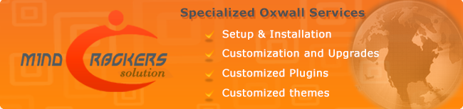 Professional custom development for Oxwall